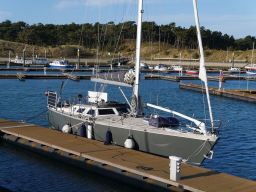 Moored in Vlieland Marina