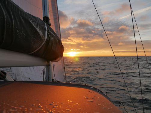 RAN Sailing Baltic Sea