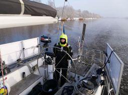 RAN Sailing Kiel Canal