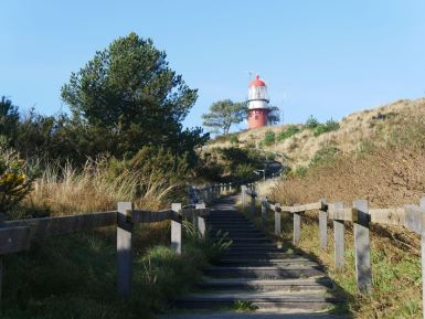 The lighthouse of Vlieland