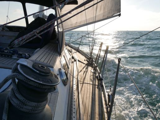 Sailing from The Hague, The Netherlands to Boulogne Sur Mer, France