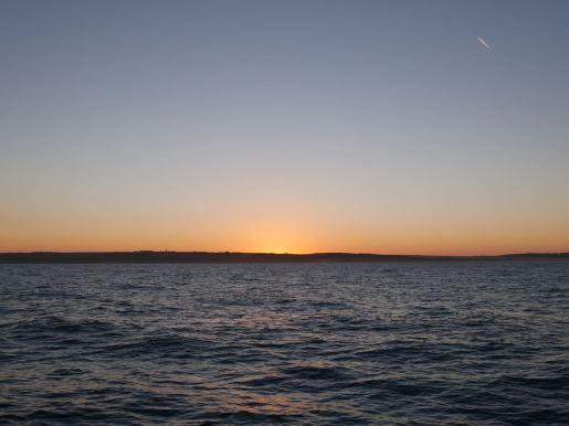 Sunrise outside Boulogne Sur Mer