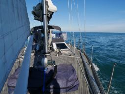 Sailing to Dieppe, France