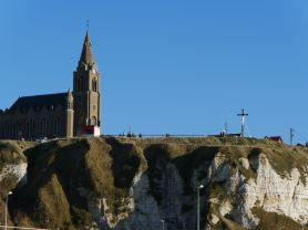 Arriving to Dieppe