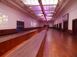 The original waiting hall when Titanic came to Cherbourg