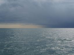 A squall coming