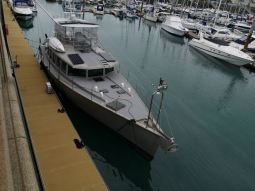 A Steve Dashew design, 64 ft boat, that Johan would like to have