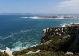 View of A Coruña