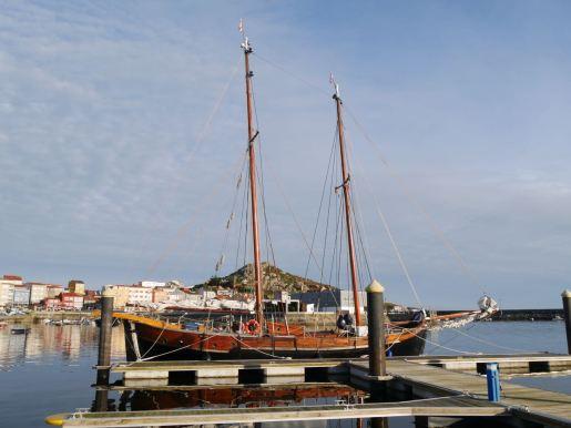 The marina in Muxía