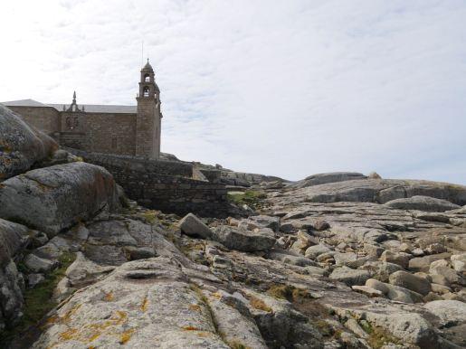 The church Virxe da Barca