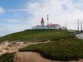 The most western point of Europe mainland, Cabo da Roca