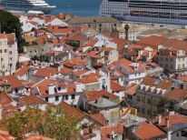The view in Alfama