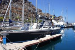 The marina in San Sebastián de La Gomera