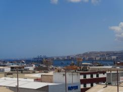 Overlooking Las Palmas from the industrial area