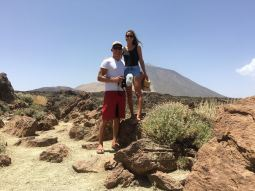 Teide is Spains highest mountain