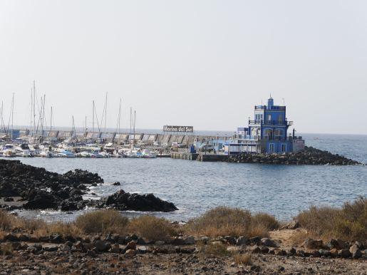 Marina Las Galletas on the south coast