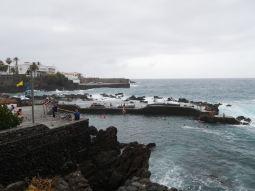 Puerto de la cruz on the north west coast
