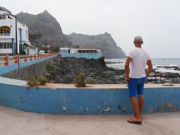 Ponta do Sol on the north west side of Santo Antao