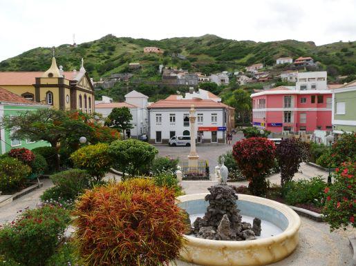 Riberira Brava, the main city on Sao Nicolau