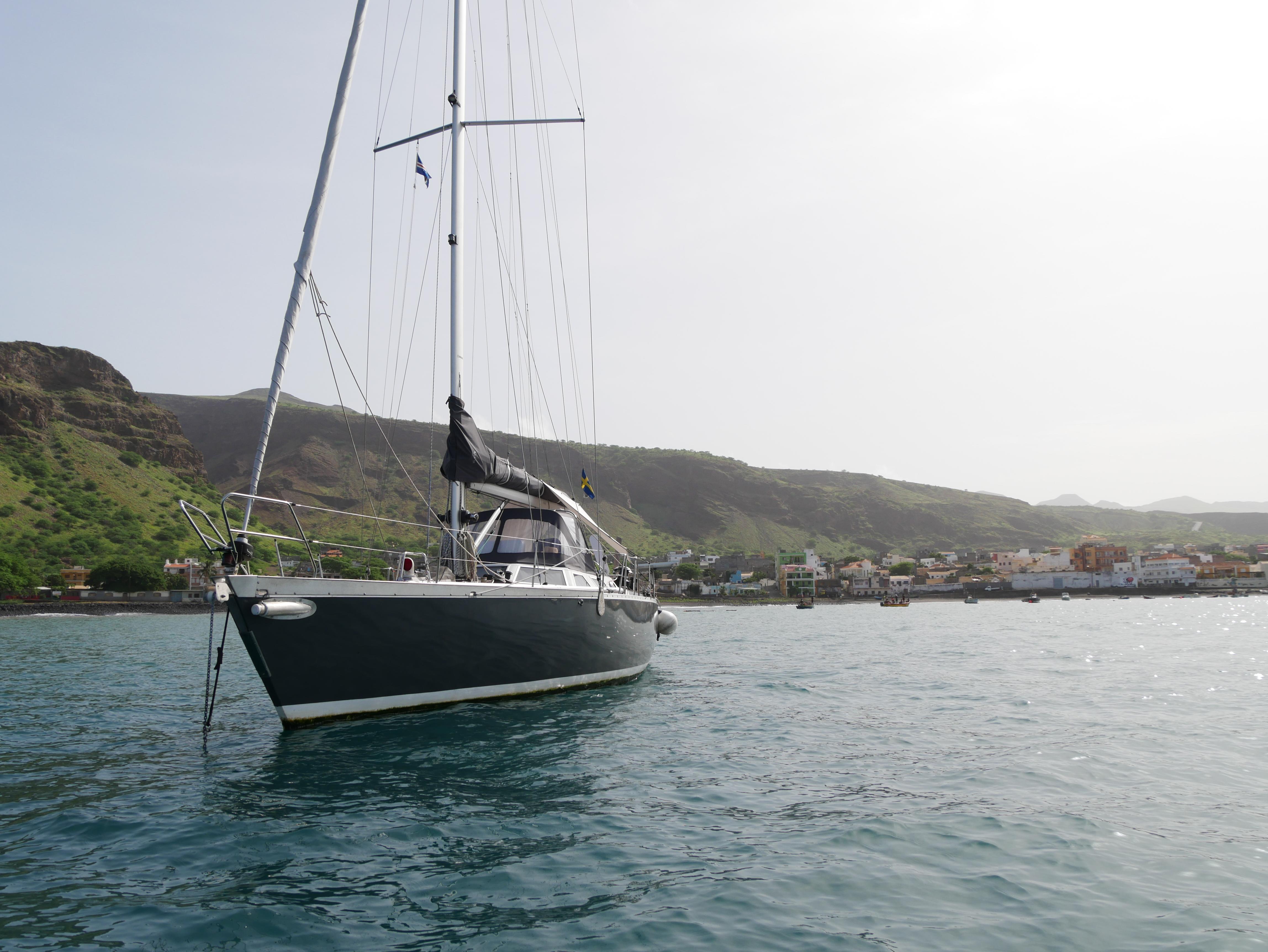 The boat – RAN Sailing