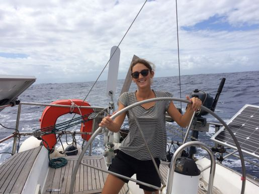 Sailing from Guadeloupe to Antigua