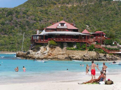 The luxurious Eden Rock Hotel.