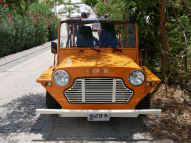 We rented a Moke to drive around St. Barths.