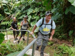 Crocodile Johnson - our guide!
