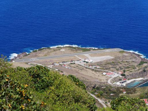 Saba has the world shortest airstrip.
